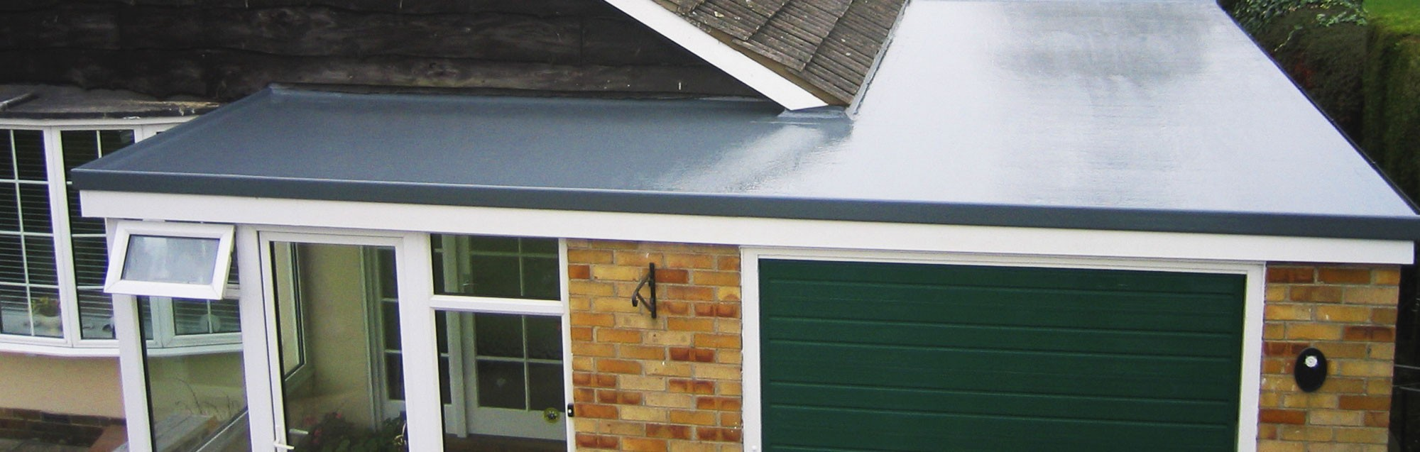 Roof over a garage